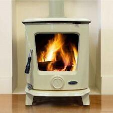 Heritage Ashford 7.5kw Wood Log Burner Stove Room Heater Enamel Colours UK Stock