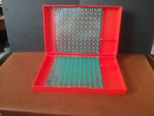 Vintage Battleship Game 1967 Red Tray Base with Grid Replacement Part