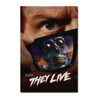 THEY LIVE Classic Movie Silk Poster Art Print 12x18 24x36 inch Home Decor