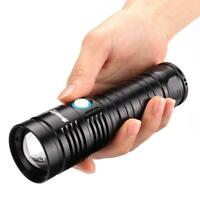 60000 LM LED Flashlight 26650/USB Rechargeable XHP50 Strobe 4 Modes Torch AE