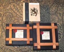 3 Wooden Cigar Boxes Edicion de Silvio & Liga Privada Purses Crafts Jewelry Box