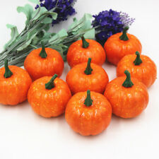 16 Pcs Halloween Party Pumpkin Artificial Fall Mini Harvest Pumpkins Home Decor