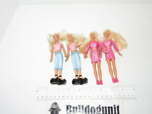 Lot of 3 Barbie Mcdonalds Happy Meal Toy