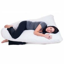 U Body Pillow Full Body Contour To Fit Pregnant Women Curves Nursing Comfort New