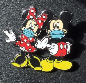 Disney Pin Mickey Mouse Minnie Mouse Pin Fantasy Pin Mickey Mask Minnie Mask Pin