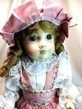 "Francine Cee Vintage 1991 LE 500 Reproduction Patricia 18"" FULL Porcelain Doll"