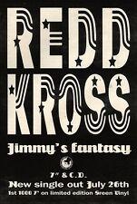 """24/7/93PGN18 REDD KROSS : JIMMY'S FANTASY SINGLE ADVERT 7X5"""""""