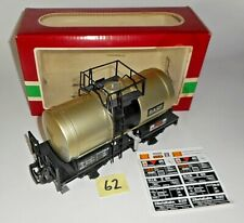 VINTAGE 1989 LGB 4040C BASF TANK CAR  G SCALE MADE IN GERMANY BOX