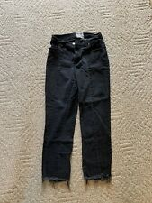 Revice Denim Black Flare Mom Jean 28