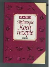Dr. Oetker - Altdeutsche Kochrezepte - 1998