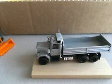 HO Scale 1/87 Silver Herpa Dump truck with Silver body