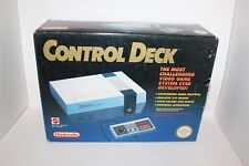 Nintendo Entertainment System Boxed Nes Console Leads & Controller