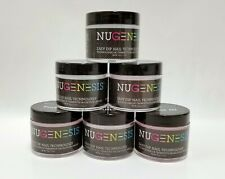 NUGENESIS Nail Color Dipping Powder GLITTERS 1.5oz/jar (NL01 - 30) Pick Colors