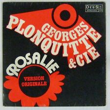 """Georges Plonquitte & Cie French 7"""" SP Rosalie DISQUES DEBS"""