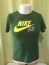 Nike SB Youth Green T Shirt Size Medium 10-13