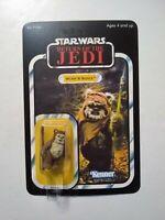 Vintage 1984 Star Wars Wicket W. Warrick Kenner ***Recarded*** Star Case