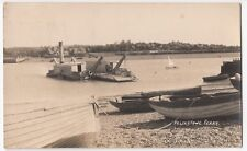 Suffolk; Felixstowe Ferry RP By Emeny 1933 Local PMK, Lovely Detailed Card