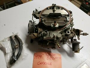 New old stock Rochester Quadrajet 17058475 Carb 1979 Chevy Camaro Corvette 350
