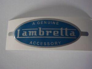 Lambretta Genuine Accessory Sticker Quality Foil Great Reproduction