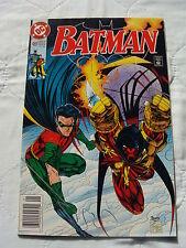 Batman #488 (Jan 1993) Origin of Azrael & St.  Dumas 1st Appearance in Batman