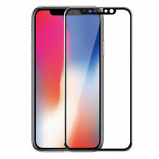 4D Full Cover Tempered Glass Screen Protector For Apple iPhone X 8 7 6s 6 Plus