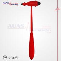 Tromner Neurological Reflex Hammer (Red), Diagnostic,Surgical,Medical, 23.5 cm