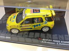 SUZUKI Ignis S1600 MONTE CARLO 2005 - 1:43 DIECAST RALLY WRC MODEL CAR IXO