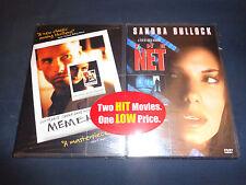 MEMENTO & THE NET-2 DVDs-Guy Pearce, Sandra Bullock, Dennis Miller--THRILLERS