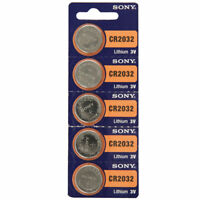 Sony 3V Lithium CR2032 Batteries (5 Batteries)