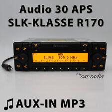 Mercedes Audio 30 APS AUX-IN MP3 R170 Navigationssystem W170 Radio SLK-Klasse