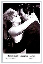 Kim Novak Laurence Harvey actor pair Swiftsure 2000 modern print Postcard B2/10