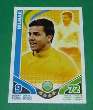NILMAR BRASIL BRESIL BRAZIL TOPPS MATCH ATTAX TRADING CARD GAME FOOTBALL 2010