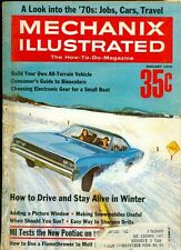 1970 Mechanix Illustrated Magazine: How to Drive in the Winter/New Pontiac