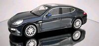 Porsche Panamera, Blue, Model Car,  Welly 1/24 Scale