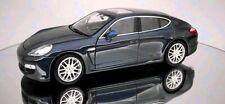 Porsche Panamera, Blue, Model Car,  Welly 1/24 Scale