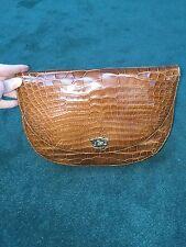 Ralph Lauren Genuine Crocodile Bag NWOT
