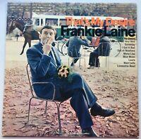 Frankie Laine - That's My Desire - LP Vinyl