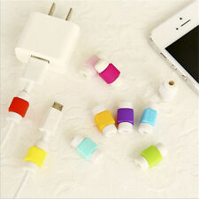 10pcs Emoji cargador USB cable ahorrador del protector para Apple iPhone