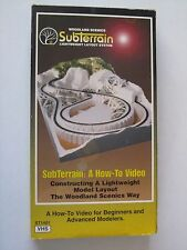 Rail Road Modelling SubTerrain:A How-To Video VHS ST 1401