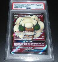 PSA 10 GEM MINT Whimsicott GX 206/214 SM FULL ART Pokemon Card