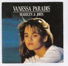 45 TOURS SP VANESSA PARADIS MARILYN ET JOHN en 1988 POLYDOR 887 640-7