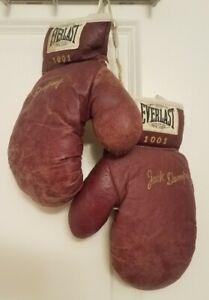 Everlast Vintage Jack Dempsey 1001 Youth Boxing Gloves Set