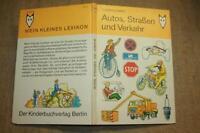 DDR Kinderlexikon, Auto, Straßenverkehr, Oldtimer, KFZ-Technik, 1980