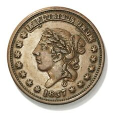 Liberty (HT# 48, Low# 33) Not One Cent Hard Times Token