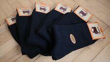Turkish %100 Merino Wool Seamless Men Socks Black Colour-Warmly-1 Lot 6 Pairs