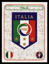 Panini Euro 2016 (Swiss Star Edition) Badge Italy No. 460