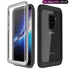 Samsung Galaxy S9 Plus Case Clear 360 Shockproof Rugged Cover + Screen Protector