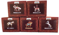 The Trail Of Painted Ponies Ornaments Christmas Complete Set 2020 NEW TTOPP