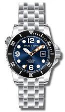 MARC & SONS Professional Automatik Taucheruhr, Diver Watch Herrenuhr - MSD-034