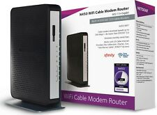 NETGEAR N450 (8x4) WiFi DOCSIS 3.0 Cable Modem Router N450 Certified for Xfinity